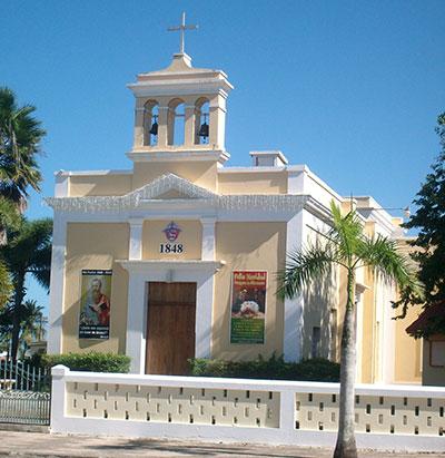 dorado iglesia