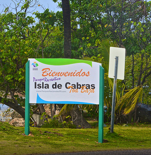 "Isla de Cabras ""Goat Island"""