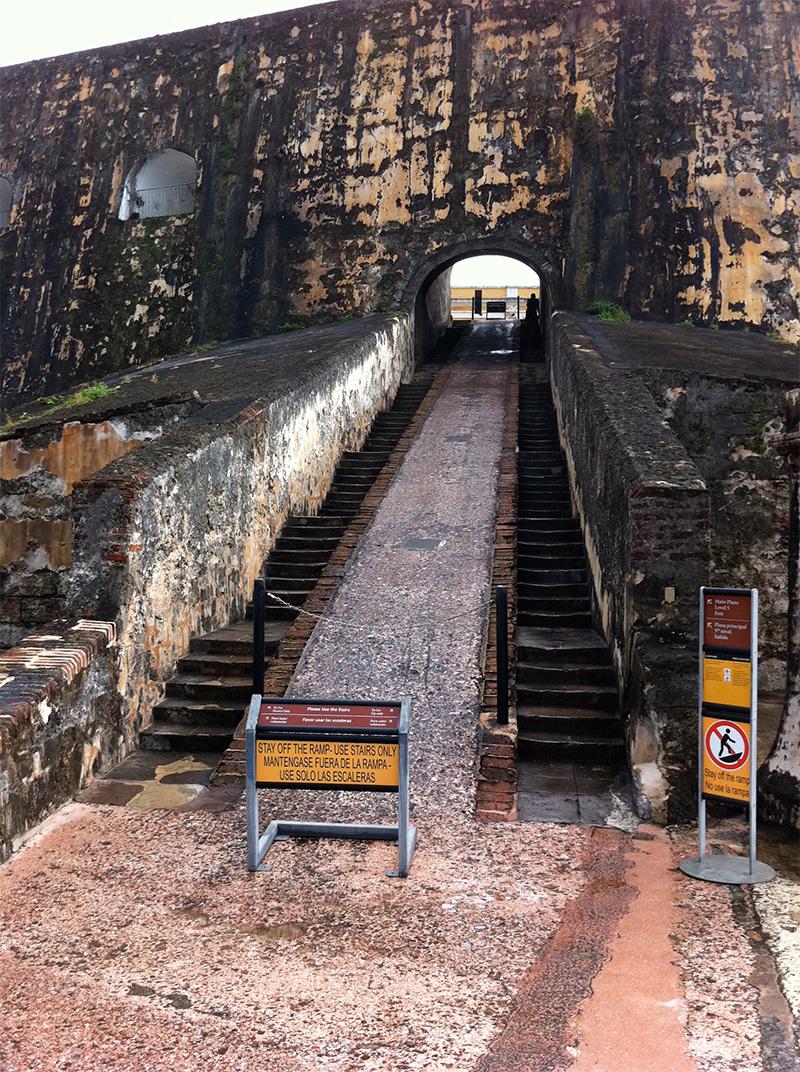 Castle San Felipe del Morro Stairs